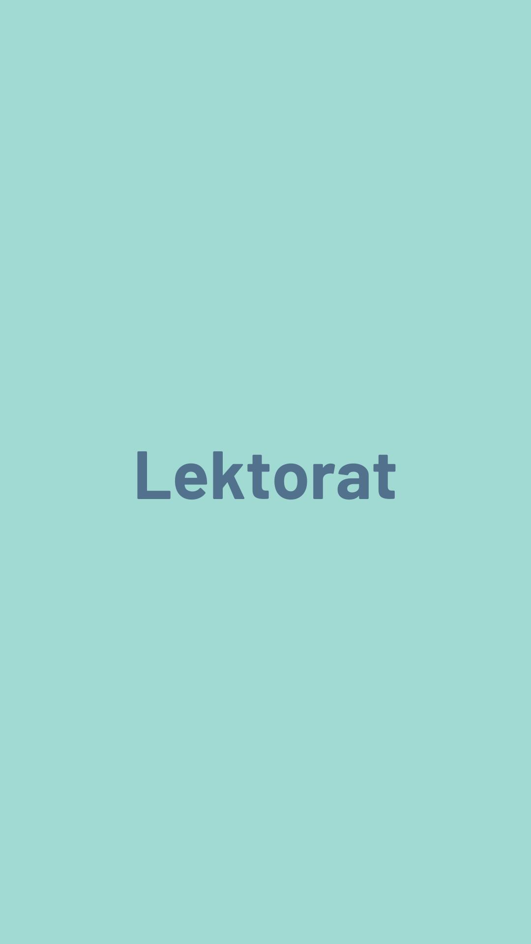 Lektorat Text